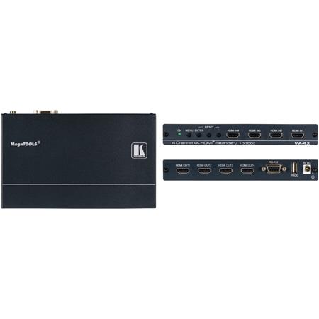 Kramer VA-4X 4-Channel HDMI Extender/Toolbox