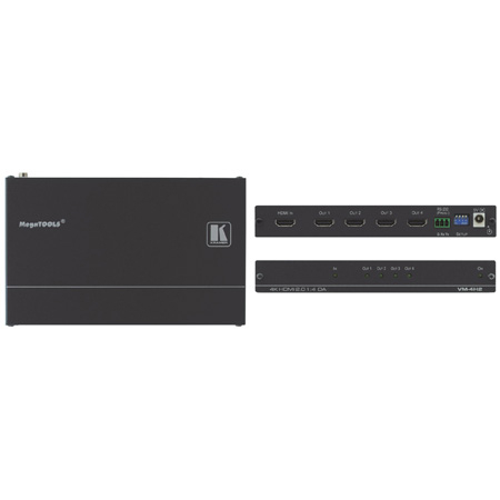 Kramer VM-4H2 4K HDMI 2.0 1:4 Distribution Amplifier Zoom Rooms Compatible