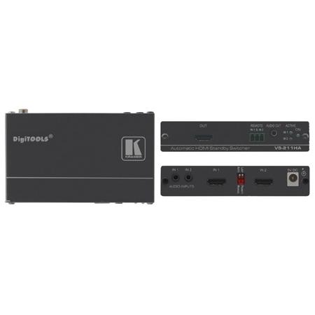 Kramer VS-211HA 2x1 Automatic HDMI Standby Switcher