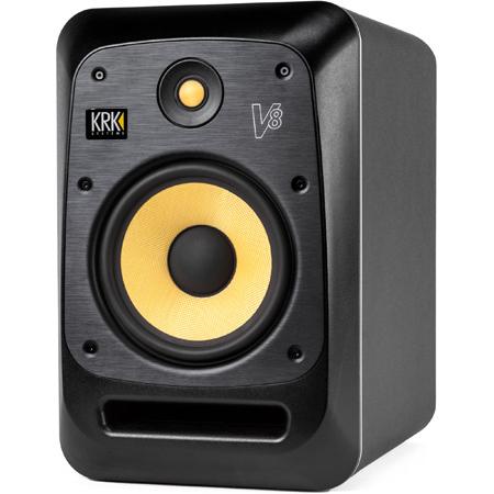 KRK V8S4 8 Inch Studio Monitor - 120V