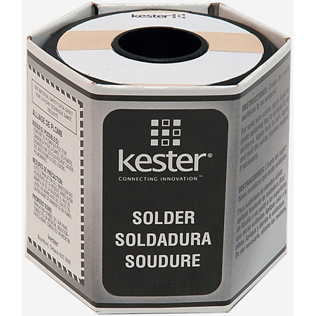 Kester 63/37 44 Rosin 025 Diameter 23 AWG Solder Wire One Pound Roll