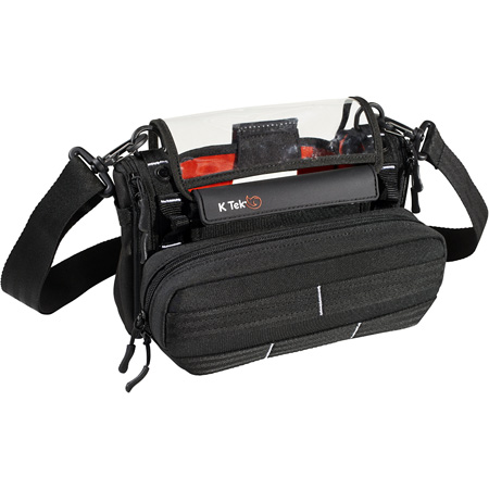 K-Tek KSTGMIX Stingray MixPro Audio Bag for the ZOOM F4/F8 and Tascam 70D/701D Field Recorders