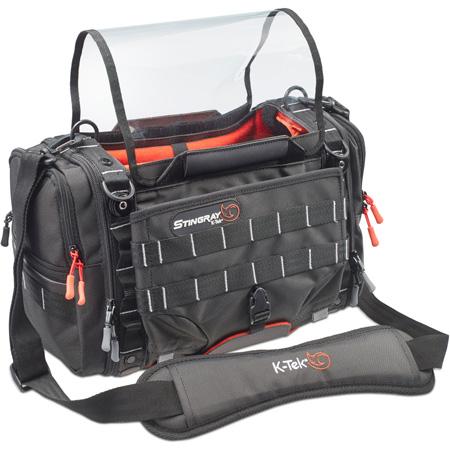 K-Tek KSTGSX X-Series Stingray Small X Audio Mixer Recorder Bag