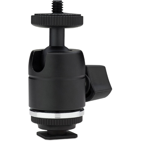Kupo KG010011 Mini Ball Head with Camera Hot Shoe Adapter