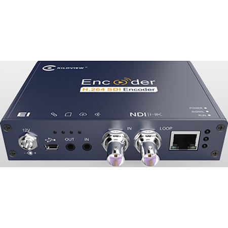 Kiloview E1-NDI H.264 HD SDI to NDI Wired Video Encoder