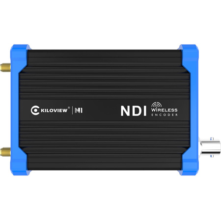 Kiloview N1 Wireless Camera Mount SDI to NDI Video Encoder - Li-Ion Battery Powered