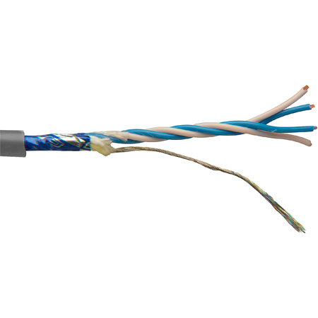 Canare L-4E5AT Permanent Install Star-Quad Mic Cable by the Foot - Grey