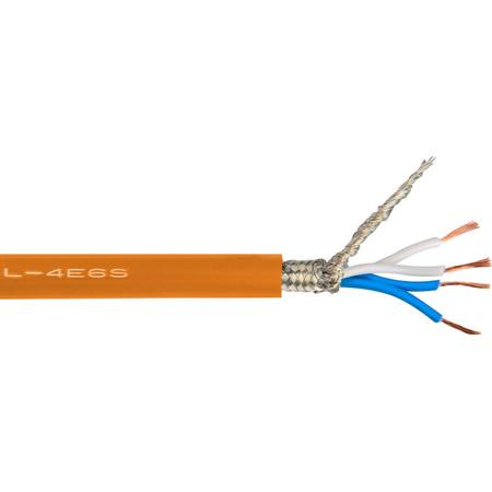 Canare L-4E6S Star-Quad Microphone Cable 656ft Roll - Orange