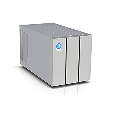 LaCie STEY12000400 12TB 2big Dock Drive Thunderbolt 2 RAID Storage
