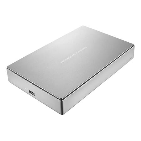 LaCie STFD4000400 4TB Porsche Design Mobile Drive - Silver