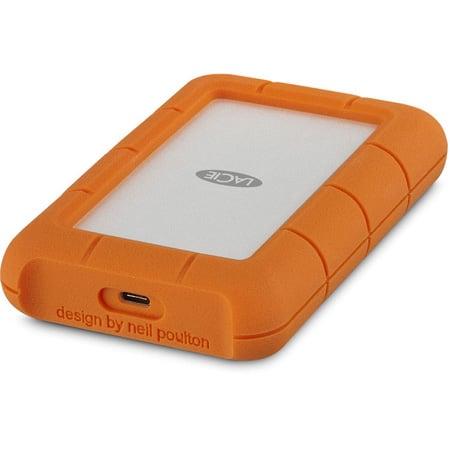 LaCie STFR5000800 5TB SSD Rugged Portable Hard Drive - Thunderbolt USB-C