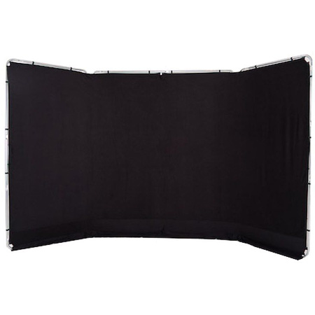 Lastolite LL LB7621 Panoramic Background 13 Foot (4M) - Black