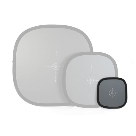 Lastolite 12in Color Balance/Exposure Tool w/White Balance & 18% Grey