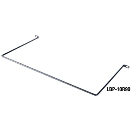 Middle Atlantic LBP-10R90 90 Deg. 10 Inch Offset Horizontal Lacer Bar (10 Pack)