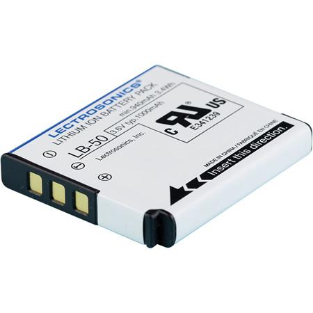 Lectrosonics 40106-1 1000mAh Li-Ion Rechargeable LB-50 Battery for SSM Micro Transmitter