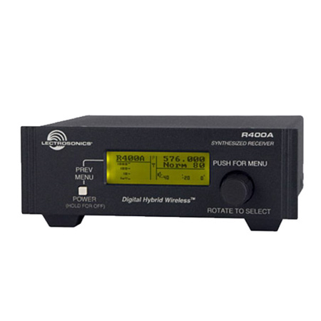 Lectrosonics R400A Digital Hybrid Wireless Diversity Receiver - Block 21- 537.600 - 563.100