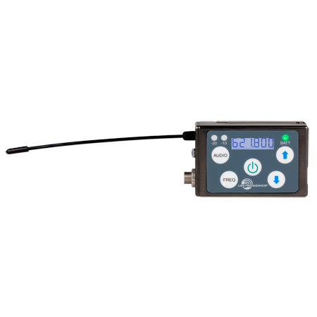 Lectrosonics SSM-A1 SSM Micro Beltpack Transmitter - Block A1 470.100 - 537.575 - Li-ion Battery Included