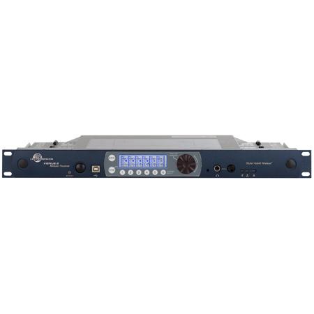 Lectrosonics Venue2 VRM2WBL Six Channel Modular Receiver Rackmount Chassis Blocks 470-26