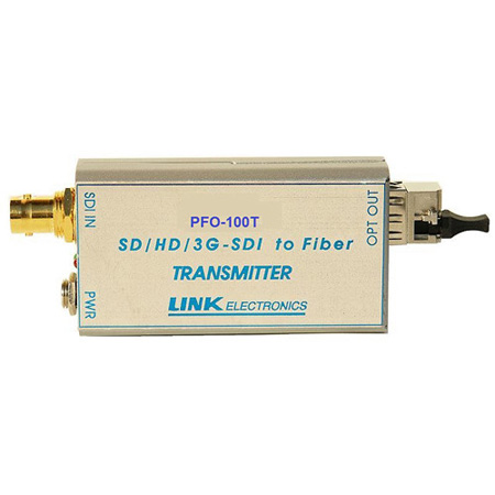 Link Electronics PFO-100TR 3G/HD/SD-SDI Fiber Optic Transmitter and Receiver