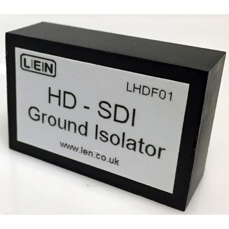 LEN LHDF01 Single Channel Passive HD Video Ground Isolator