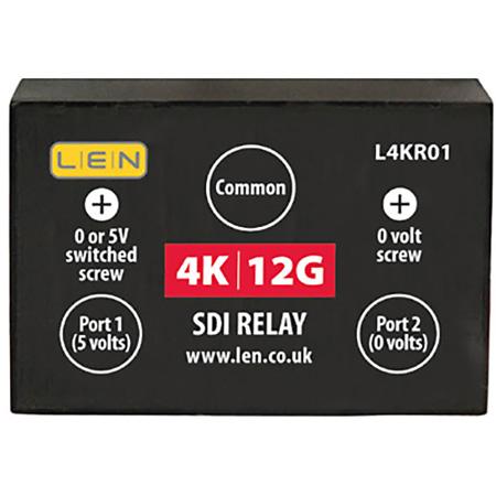 LEN L4KR01 4K/12G Relay