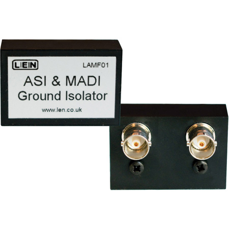 LEN LAMF01 AES MADI ASI Ground Isolator