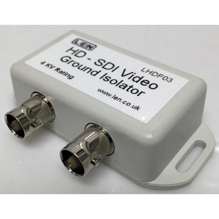 LEN LHDF03 HD-SDI Video Ground Isolator 4000 Volt - 4kV Breakdown