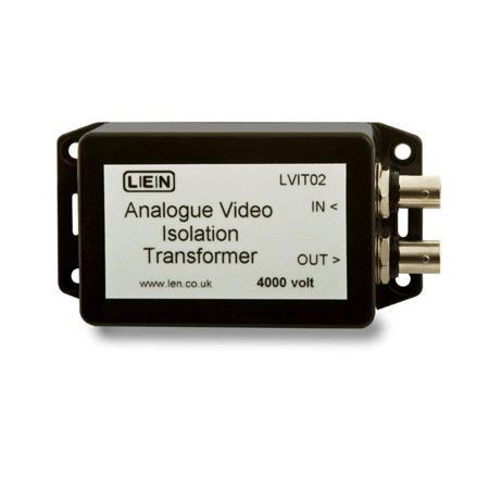 LEN VIT02 Video Isolation Transformer - Analogue - 4kV Breakdown