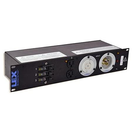 Lex PRM2IN-7CC 2RU Rack Mount Power Distribution - L21-30 In/Thru to 6 Duplexes