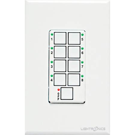 Lightronics AC1109 Unity Architectural Remote Station