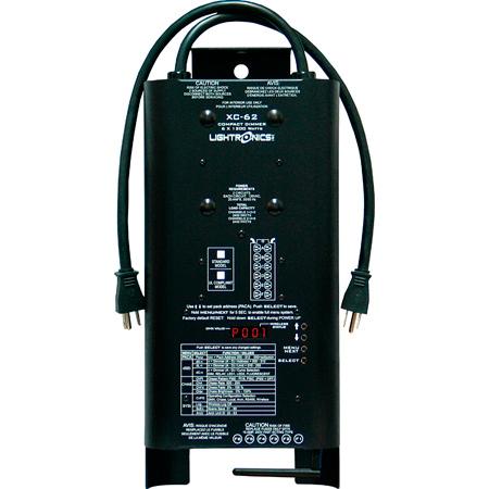 Lightronics XC62 DMX Portable Dimmer