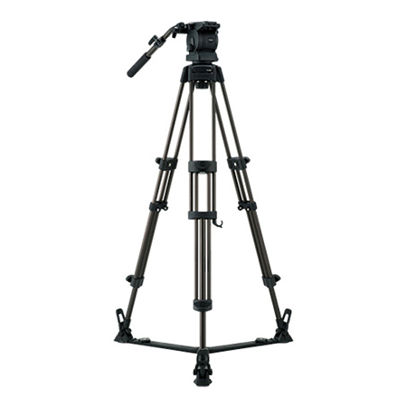 Libec RS-250D - RH25D Head / RT30B Tripod / SP-2B Floor-level spreader / RC-30 Case