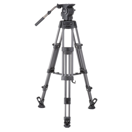 Libec RSP-850M Professional Aluminum Tripod System with Mid-level Spreader