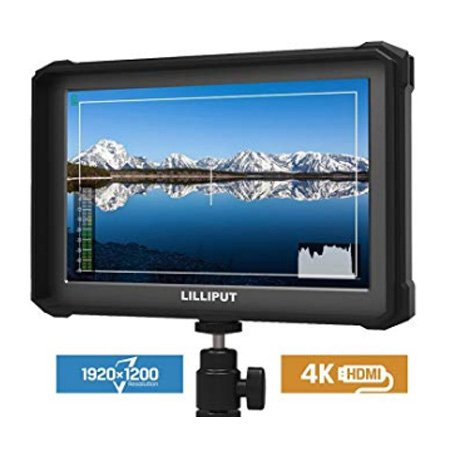 Lilliput A7S-B Full HD 7 Inch Monitor Package with 4K Camera Assist - Black Case