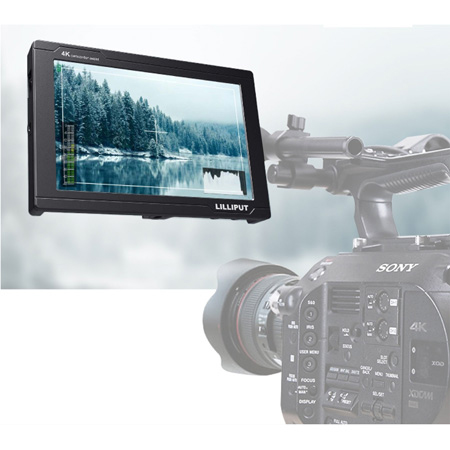 Lilliput FS7 7 Inch Camera Top SDI Monitor with 4K Full HD HDMI Camera Assist