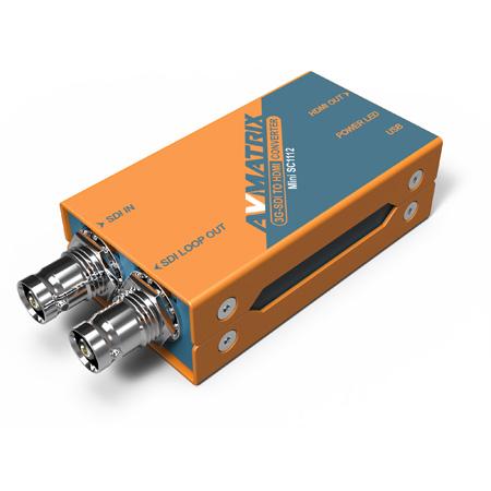 AVMATRIX SC1112 3g-SDI to HDMI mini converter