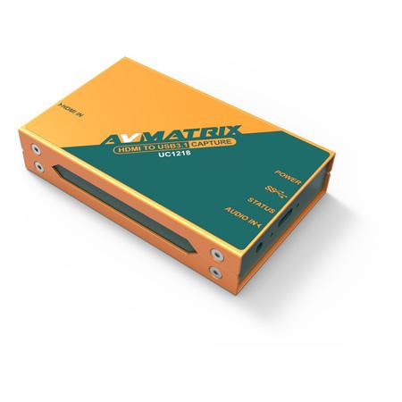 AVMATRIX UC1218 HDMI to USB 3.1 Video Capture Device