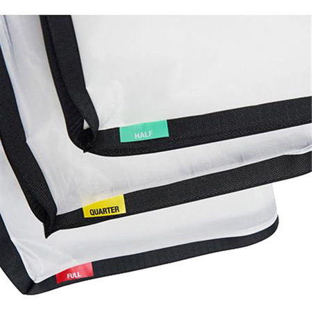 Litepanels 900-3719 Snapbag Cloth Set for Gemini 1x1 - Quarter/Half/Full Diffusion Cloths