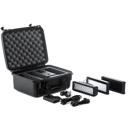 Litepanels 910-0001 Brick BI-CLR On-Camera LED 1-Lt Kit