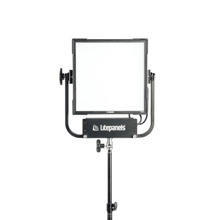 Litepanels 945-1301 Gemini 1x1 LED Full Soft Panel with Yoke and US Power Cable
