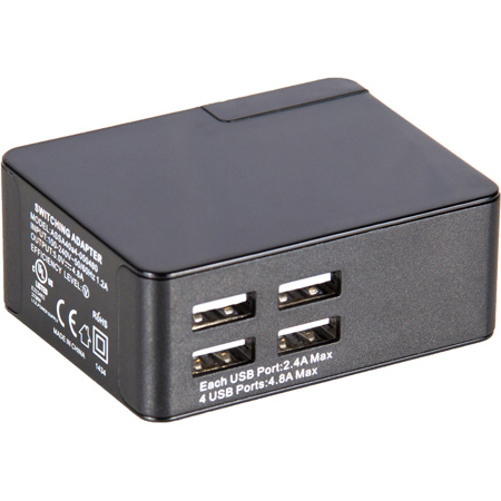 Listen Technologies LA-423-01 4-Port USB Charger