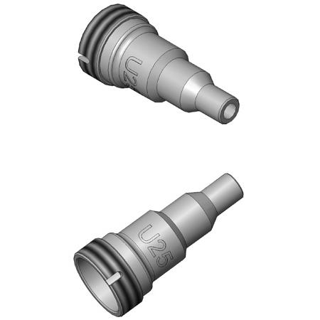 Lightel PT2-U2.5/PC/M Universal 2.5mm Series 2 Probe Tip for PC Type Male Con.