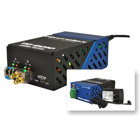 Fiberplex TD-6010 12.5Gbps Flexible Interface SFP/SFPplus Transceiver Workbox