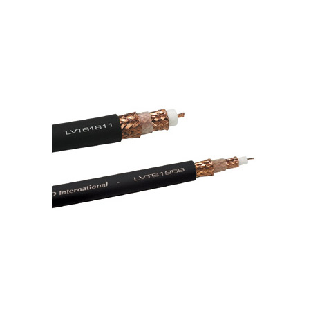 Gepco LVT61811 14wga Low loss RG11 Triax cable (Flexible)-per foot