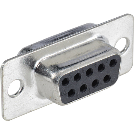 Liberty DB9F D-Sub 9-Pin Jack Solder Type Connector