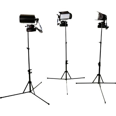 Lowel TOTALED3LK Tota LED 3-Light Production Kit