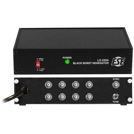 ESE LX 220A-P NTSC Black-Burst / Sync Generators with 19 Inch Rack Mount Option