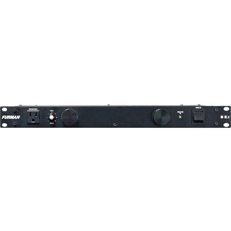 Furman M-8Lx 15A 8 Outlet Rackmount Power Conditioner with Dual Slide Out Lights