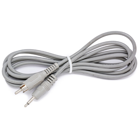 Connectronics Mono Mini Phone Male to RCA Male Audio Cable 25Ft