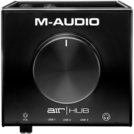 M-Audio AIRXHUB USB Monitoring Interface with Built-In 3-Port Hub